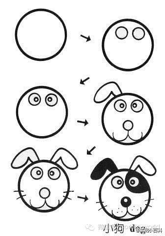 动漫小动物简画必备技能