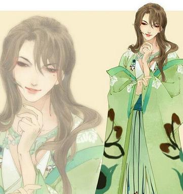 凤囚凰漫画人物角色:柳色