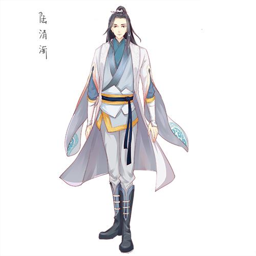 剑灵三生三世漫画角色:陆清渐 - 国漫人物角色大全